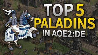 Top 5 Best Paladins in AoE2:DE