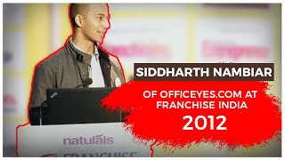 Siddharth Nambiar of OfficeYes com at