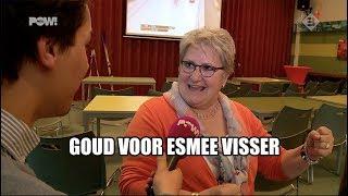 Goud voor Esmee Visser