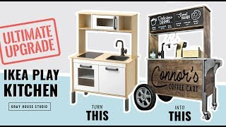 Ultimate IKEA Play Kitchen Hack