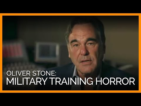Oliver Stone Exposes Horrific Military Training Video