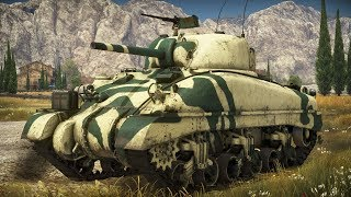 War Thunder - Episode 343 - Sherman II First Drive (Realistic Battles/Italy)