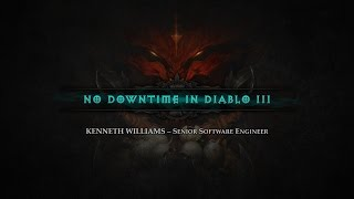 No Downtime in Diablo III ft. Kenneth Williams