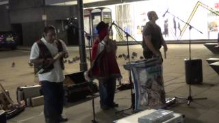 Native American Music in Oxford Street {LONDON}