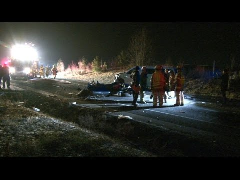 Fatal Head On Accident Car Was Ripped In Half 200th Street East Spanaway WA