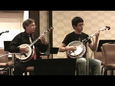 sweet Georgia Brown Steve Caddick & Nathan Hanna ~ New England Jazz Banjofest video