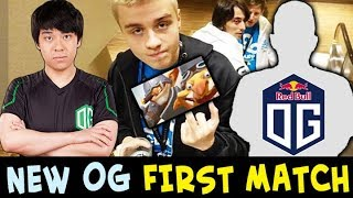 New OG FIRST game — LOL Techies pick