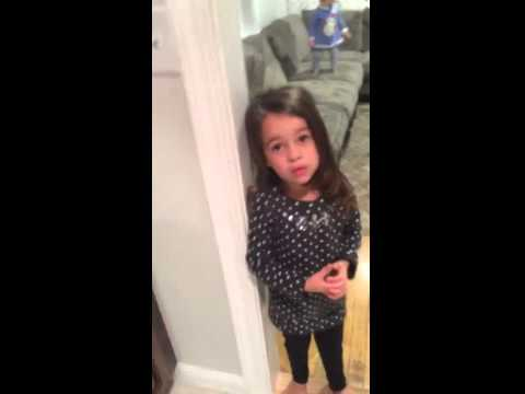 Big Sister Tries To Get Her Brother Off The Christmas Naughty List video