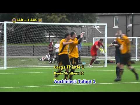 Auchinleck's David Gormley scores from his own half