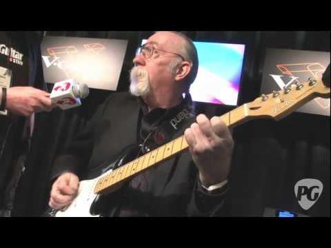 NAMM '12 - Roland G-5 VG Stratocaster Demo