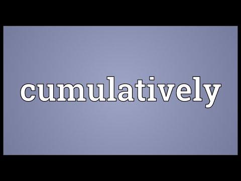 Header of cumulatively