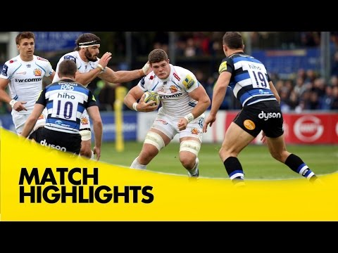 Bath Vs Exeter Chiefs - Aviva Premiership 2015/16