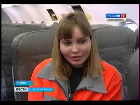 В Новосибирске работает единственная в Сибири женщина-авиамеханик.