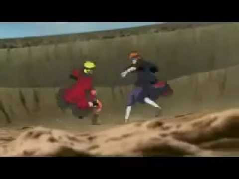 Naruto Vs Pain Molinos De Viento video