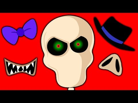 Funny Missing Skeleton Face Finger Family and Halloween Songs by Teehee Town