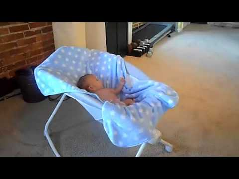 Baby farts loudly