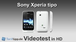 Sony Xperia tipo | Handytest in HD (deutsch)