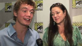 Christoph Sanders & Camryn Manheim - Ghost Whisperer - Studying The Paranormal