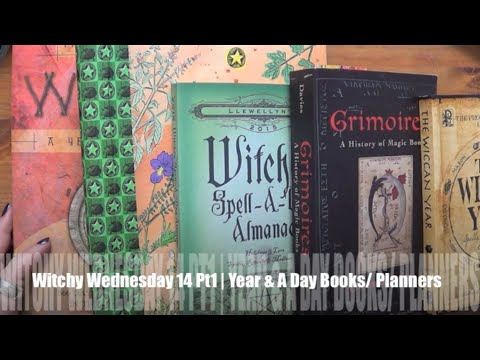 Witchy Wednesday 14 Pt1   BookTube   Year & A Day Books and Planners