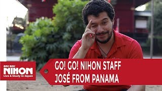 Meet Go! Go! Nihon's staff : José from Panama