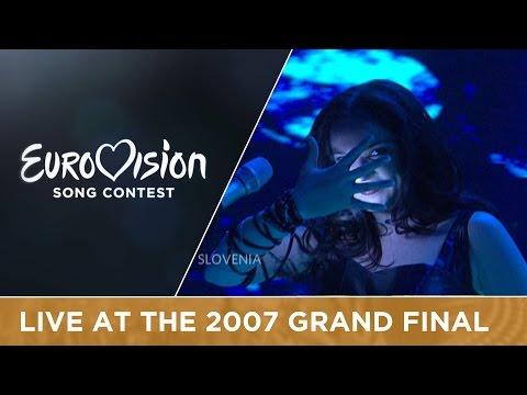 Alenka Gotar - Cvet Z Juga (Slovenia) Live 2007 Eurovision Song Contest