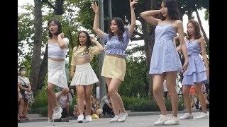 Nhảy Tung váy thấy cả trên lẫn dưới, sốc mà thích giữa lòng thu đô