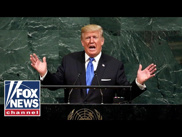 Trump speaks at the United Nations General Assembly