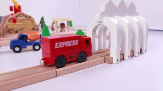 Train for kids - Kids Railway - Toy Videos - Choo Train