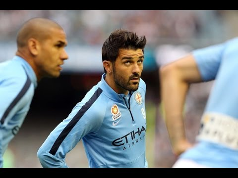 David Villa vs Melbourne Victory 25.10.2014 | Individual highlights