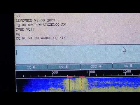 ARRL RTTY Roundup W4HOD 80 meters