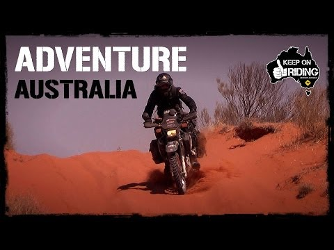 ADVENTURE AUSTRALIA - DR650 Style!