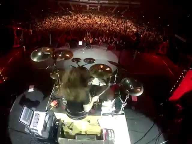 Merlin Sutter (Eluveitie) Drum Cam - Helvetios Live In Gothenburg, 2012