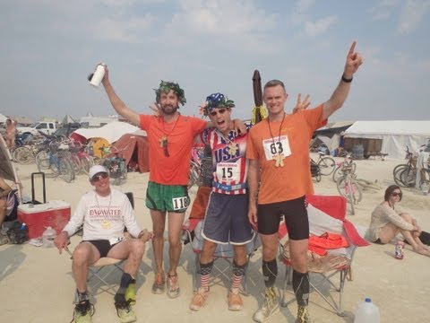 The Most Surreal Ultramarathon in the World - Burning Man 50Km - Naked Racing? Sure!
