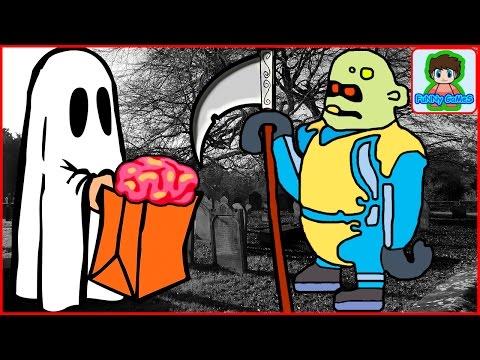 zombie catchers Ловцы зомби игра как мультик для детей от фаника 13