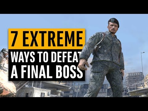 7 Extreme Ways to Defeat a Final Boss