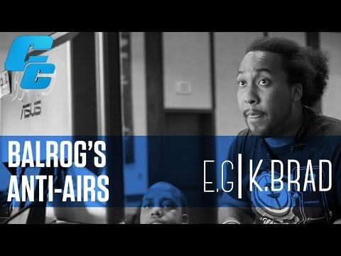 Cross Counter Training: Balrog's anti-air options (feat. EG.K-Brad - @kbradjstorm)