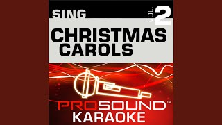 We Wish You A Merry Christmas Karaoke Instrumental Track In The Style Of Traditional