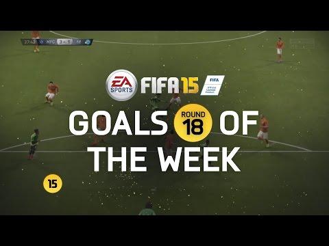 FIFA 15 - Best Goals of the Week - Round 18