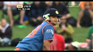 Suresh Raina 6639   India vs New Zealand 1st ODI at Napier 2009   YouTube