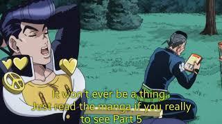 The JoJo Fandom when the Part 5 Anime is confirmed