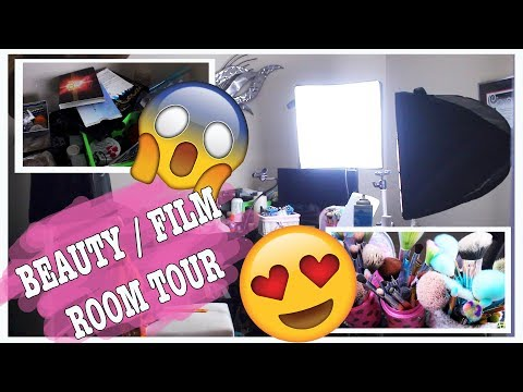Beauty / Film Room Tour!   A Poisoned Production