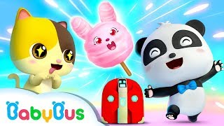 Dapur Ajaib Bayi Panda Kiki | Kartun Anak | Bahasa Indonesia | BabyBus