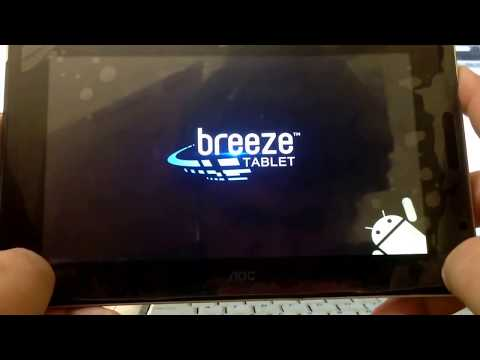 Factory Reset - Formatear tablet android AOC