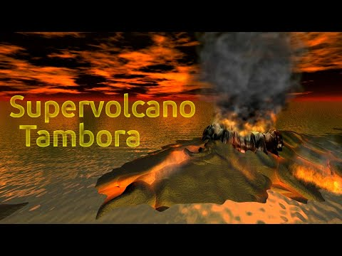 Gunung Tambora: The Cataclysm