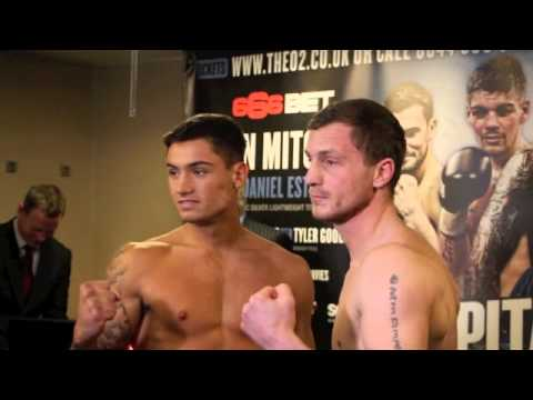 BEN HALL v RYAN TOMS - OFFICIAL WEIGH IN VIDEO / CAPITAL PUNISHMENT