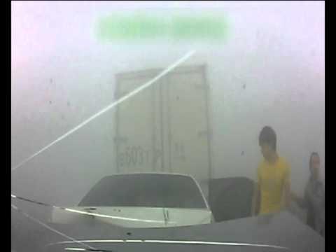 Авария в Сургуте из-за дыма от лесных пожаров столкнулись пять машин