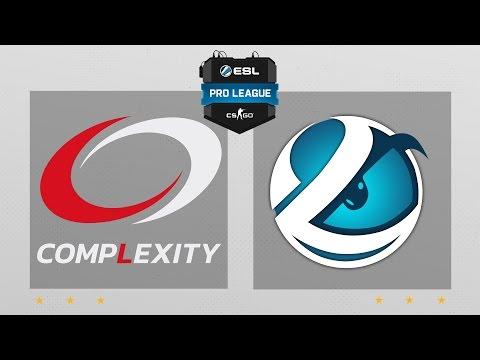 CS:GO - compLexity vs. Luminosity [Overpass] Map 2 - ESL Pro League Season 5 - NA Matchday 12