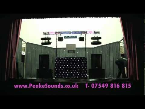Peake Sounds Mobile Disco DJ Setup