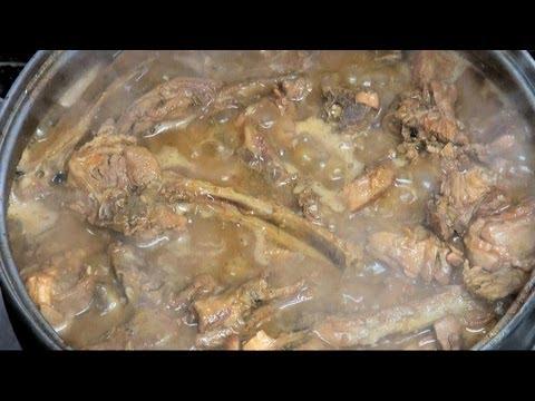 """Cabrito guisado """"cordero lechal"""" Vídeo receta 84 Aquí cocinamos todos. Cooking recipe"""