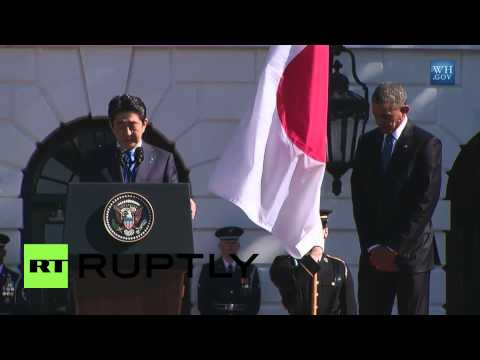 USA: Obama welcomes Japan's Abe to White House, thanks him for emojis